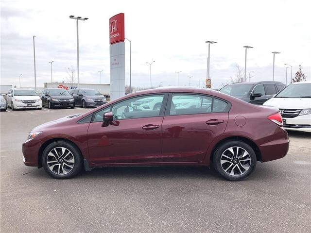 2015 Honda Civic EX (Stk: I181313A) in Mississauga - Image 4 of 21