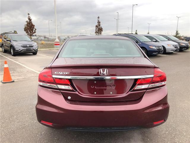 2015 Honda Civic EX (Stk: I181313A) in Mississauga - Image 6 of 21