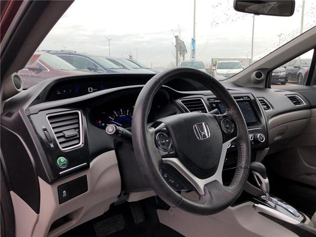 2015 Honda Civic EX (Stk: I181313A) in Mississauga - Image 12 of 21