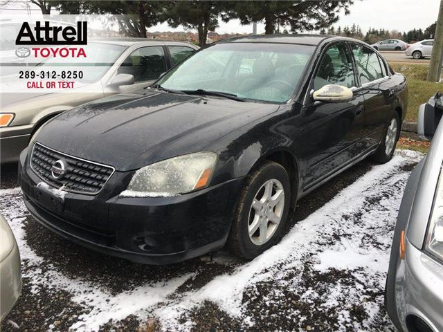 2005 Nissan Altima S POWER DRIVER SEAT, ALLOY WHEELS, KEYLESS ENTRY (Stk: 42854A) in Brampton - Image 1 of 11