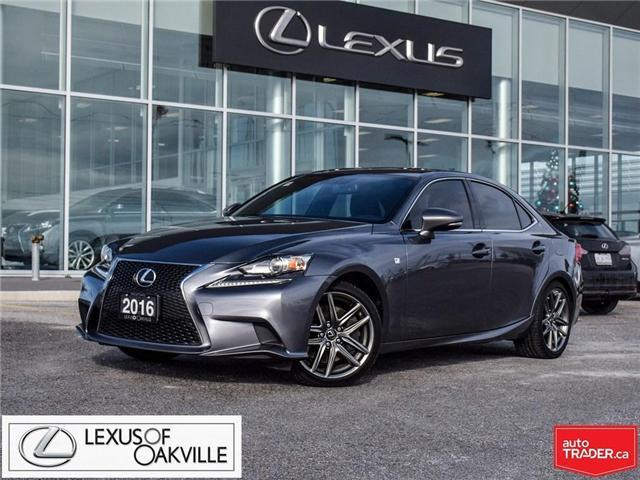2016 Lexus IS 300 Base JTHCM1D26G5012653 UC7587 in Oakville