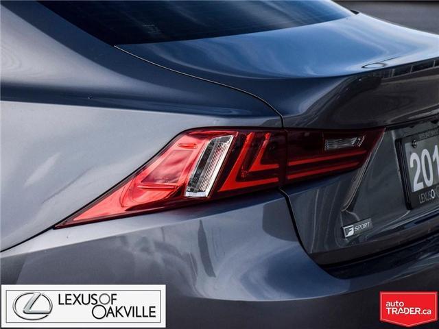 2016 Lexus IS 300 Base (Stk: UC7587) in Oakville - Image 10 of 21