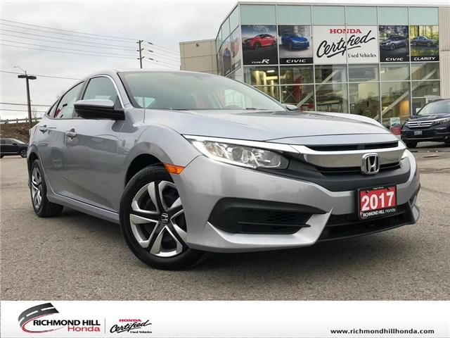 2017 Honda Civic LX (Stk: 2065P) in Richmond Hill - Image 1 of 19