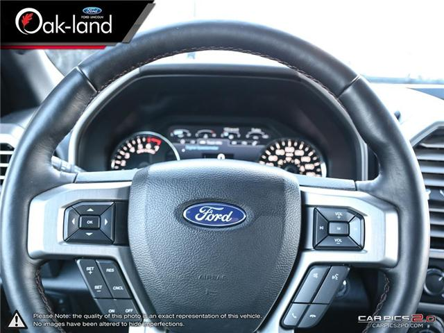2018 Ford F-150 Platinum (Stk: A3092) in Oakville - Image 14 of 30