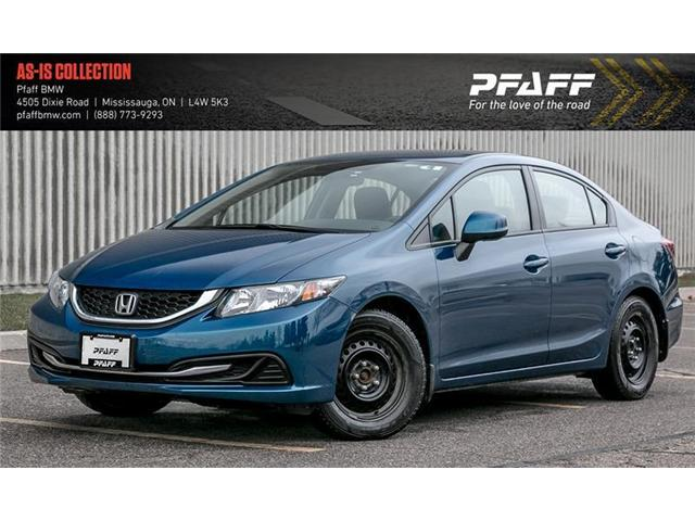 2013 Honda Civic LX (Stk: 21469A) in Mississauga - Image 1 of 6