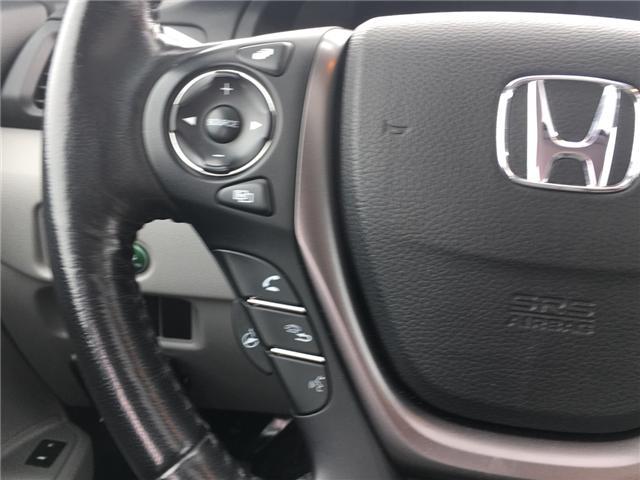 2016 Honda Pilot EX-L Navi (Stk: P00040) in Barrie - Image 10 of 13