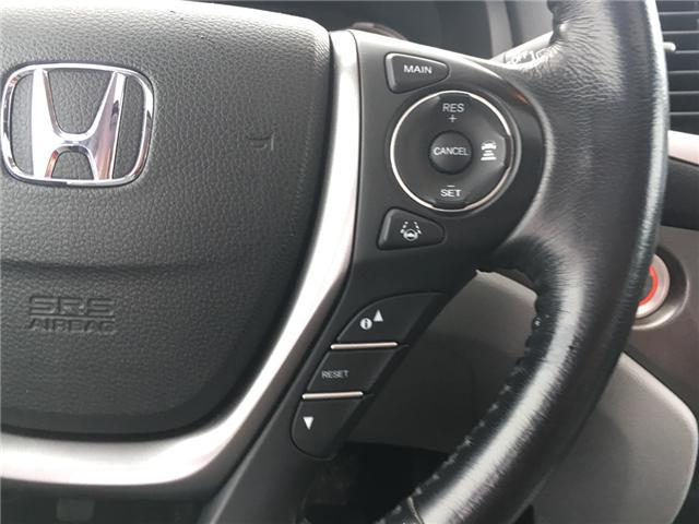 2016 Honda Pilot EX-L Navi (Stk: P00040) in Barrie - Image 11 of 13