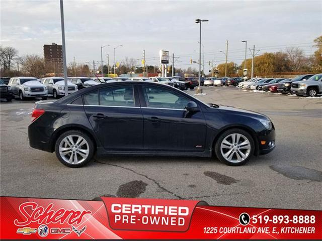 2013 Chevrolet Cruze LT Turbo (Stk: 581410) in Kitchener - Image 3 of 9