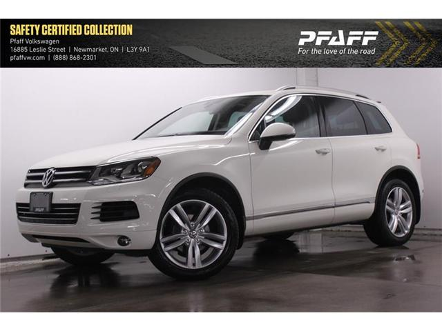 2012 Volkswagen Touareg 3.6L Execline (Stk: V3268A) in Newmarket - Image 1 of 21