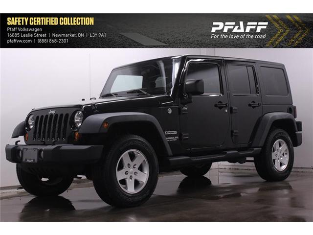 2011 Jeep Wrangler Unlimited Sport (Stk: V3696A) in Newmarket - Image 1 of 14
