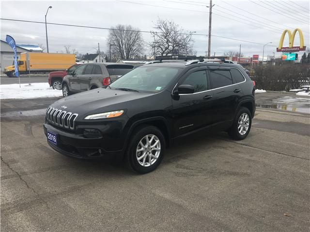 2016 Jeep Cherokee North (Stk: 18212AA) in Perth - Image 1 of 10