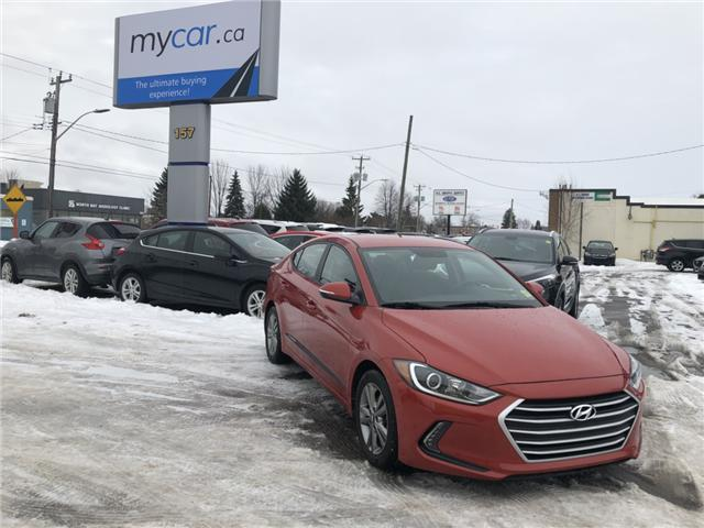 2017 Hyundai Elantra GL (Stk: 181732) in North Bay - Image 2 of 12