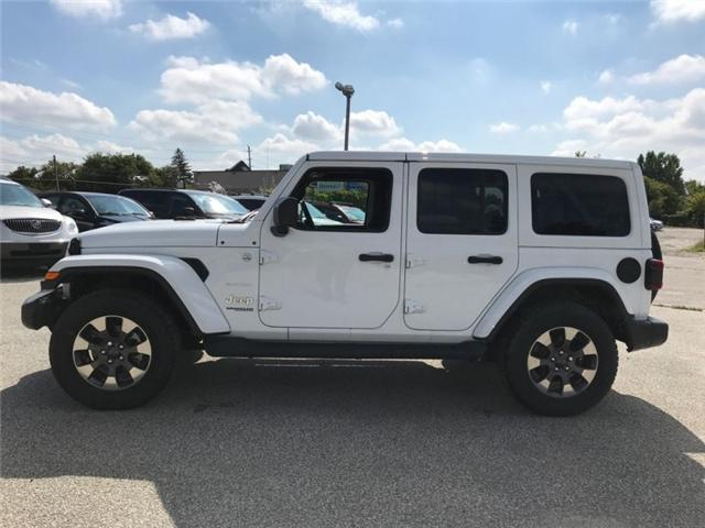2018 Jeep Wrangler Unlimited Sahara (Stk: W18005) in Newmarket - Image 2 of 17