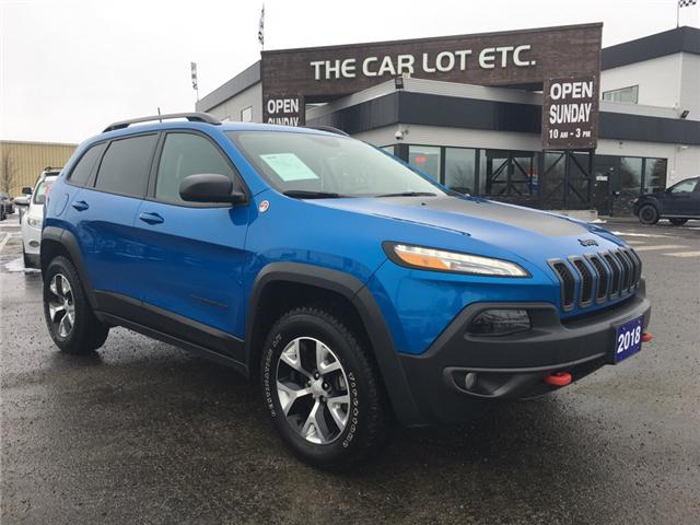 2018 Jeep Cherokee Trailhawk (Stk: 18664) in Sudbury - Image 1 of 14