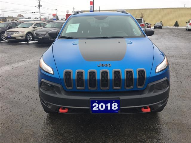 2018 Jeep Cherokee Trailhawk (Stk: 18664) in Sudbury - Image 2 of 14
