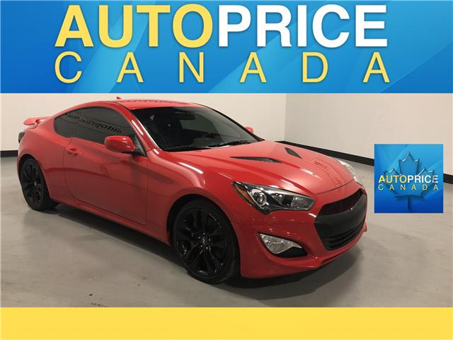 2016 Hyundai Genesis Coupe 3.8 R-Spec (Stk: F0001) in Mississauga - Image 1 of 24