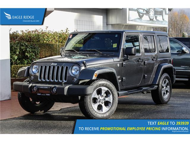 2018 Jeep Wrangler JK Unlimited Sahara (Stk: 189256) in Coquitlam - Image 1 of 13