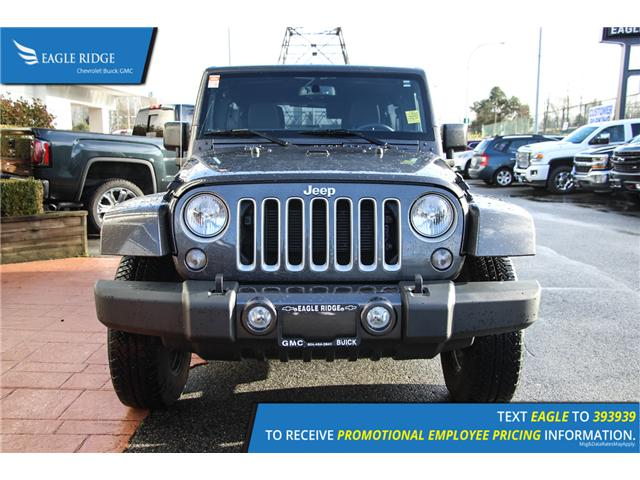 2018 Jeep Wrangler JK Unlimited Sahara (Stk: 189256) in Coquitlam - Image 2 of 13