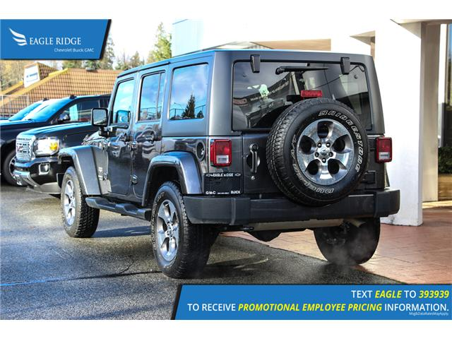 2018 Jeep Wrangler JK Unlimited Sahara (Stk: 189256) in Coquitlam - Image 4 of 13