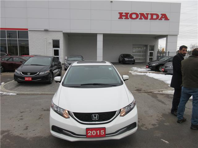 2015 Honda Civic EX (Stk: 25728L) in Ottawa - Image 2 of 10