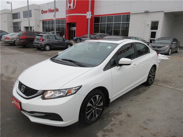 2015 Honda Civic EX (Stk: 25728L) in Ottawa - Image 1 of 10