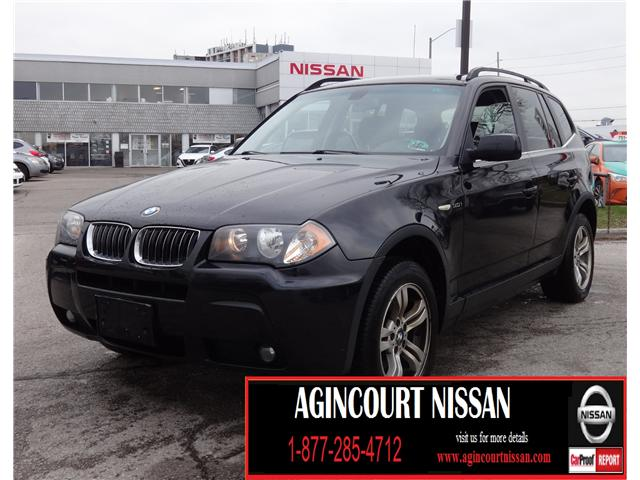 2006 BMW X3 3.0i (Stk: JY334168A) in Scarborough - Image 1 of 14
