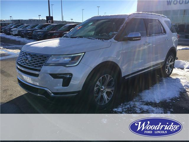 2019 Ford Explorer Platinum (Stk: K-255) in Calgary - Image 1 of 5