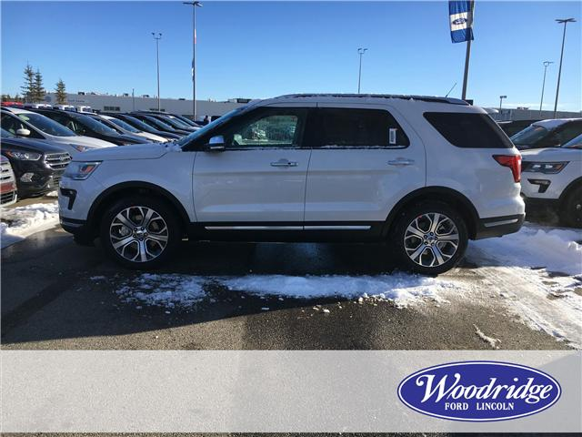 2019 Ford Explorer Platinum (Stk: K-255) in Calgary - Image 2 of 5
