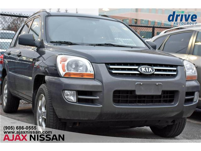 2008 Kia Sportage LX (Stk: T987A) in Ajax - Image 1 of 14