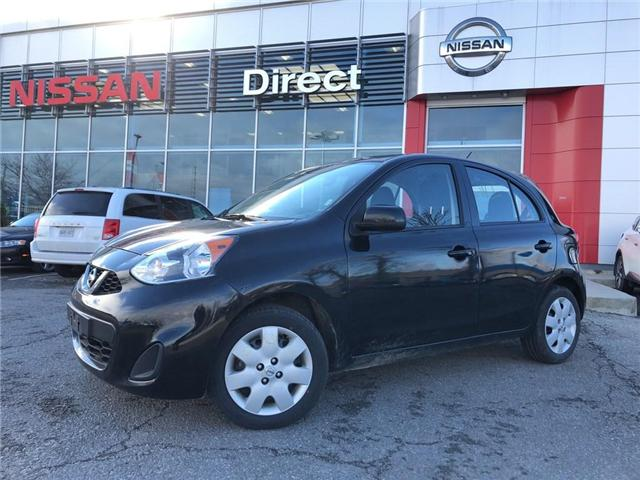 2017 Nissan Micra SV | CERTIFIED PRE-OWNED | WARRANTY (Stk: P0594) in Mississauga - Image 1 of 14