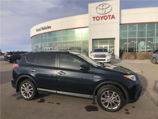 2018 Toyota RAV4 Hybrid  (Stk: 284257) in Calgary - Image 1 of 19
