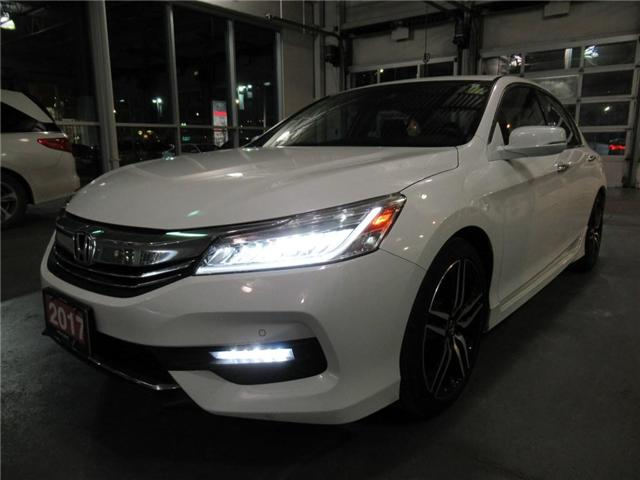 2017 Honda Accord Touring V6, SUCH LOW KMS!! (Stk: 8802503A) in Brampton - Image 1 of 29