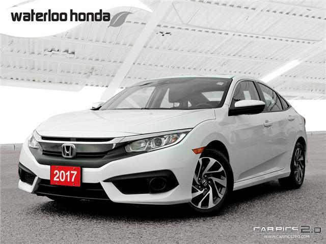 2017 Honda Civic EX (Stk: U4868) in Waterloo - Image 1 of 28