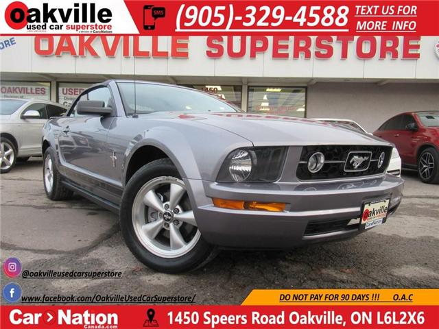 2007 Ford Mustang V6 | PONY PACK | LEATHER | HTD SEATS (Stk: P11601A) in Oakville - Image 1 of 26