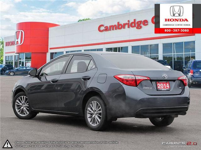 2014 Toyota Corolla LE (Stk: 19189A) in Cambridge - Image 4 of 27