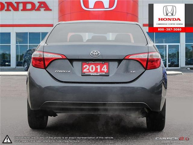 2014 Toyota Corolla LE (Stk: 19189A) in Cambridge - Image 5 of 27