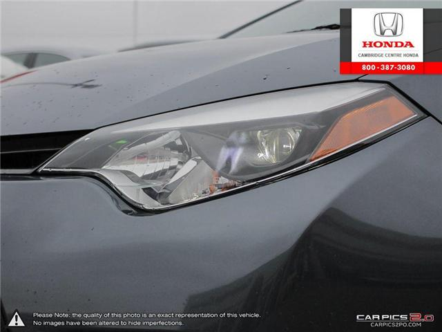 2014 Toyota Corolla LE (Stk: 19189A) in Cambridge - Image 10 of 27