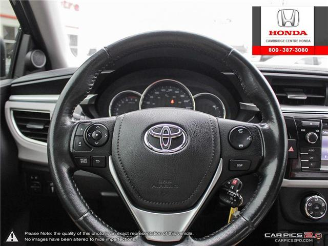 2014 Toyota Corolla LE (Stk: 19189A) in Cambridge - Image 14 of 27