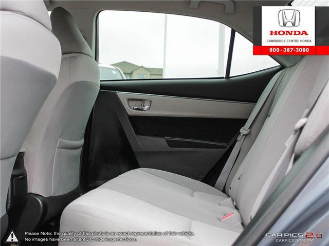 2014 Toyota Corolla LE (Stk: 19189A) in Cambridge - Image 24 of 27