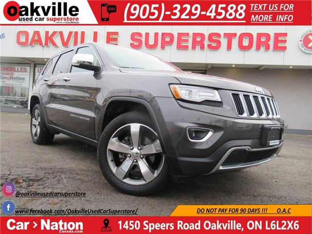 2015 Jeep Grand Cherokee LIMITED | PANO ROOF | NAVI | LEATHER (Stk: P11636) in Oakville - Image 1 of 28