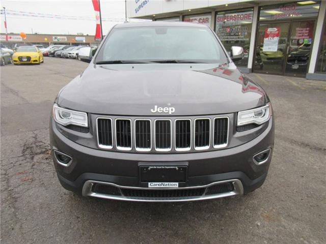 2015 Jeep Grand Cherokee LIMITED | PANO ROOF | NAVI | LEATHER (Stk: P11636) in Oakville - Image 2 of 28