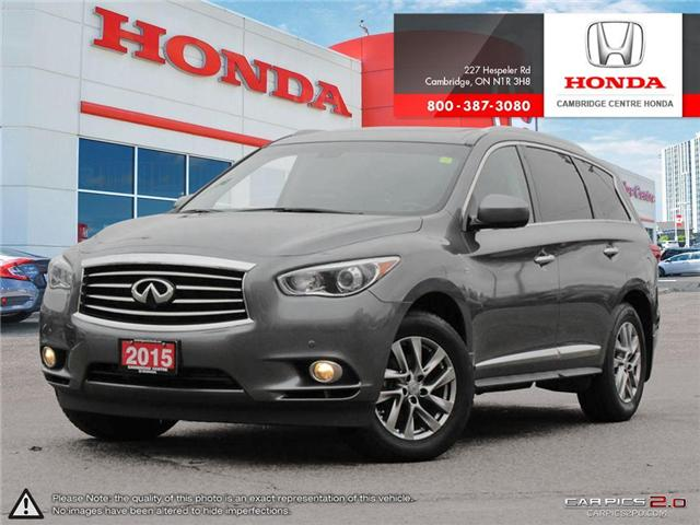 2015 Infiniti QX60 Base (Stk: 19256A) in Cambridge - Image 1 of 27