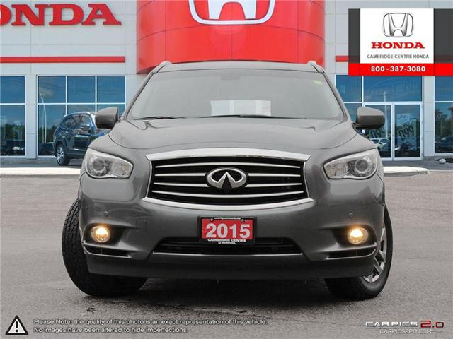 2015 Infiniti QX60 Base (Stk: 19256A) in Cambridge - Image 2 of 27
