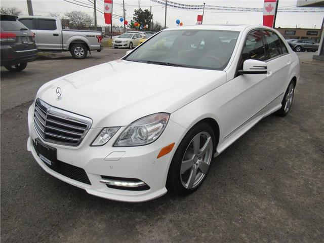 2013 Mercedes-Benz E-Class E 350 4MATIC | LOW KMS | SUNROOF | NAVI (Stk: P11634) in Oakville - Image 2 of 28