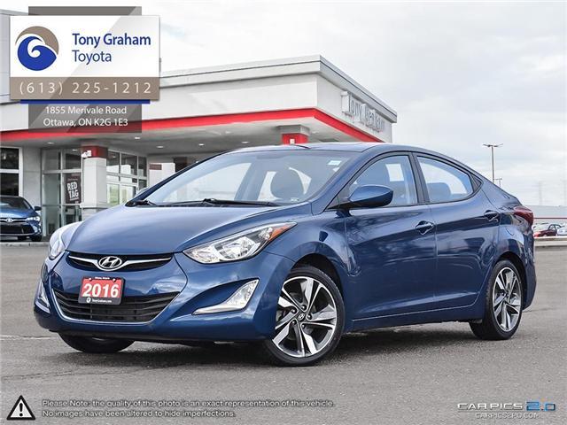 2016 Hyundai Elantra GLS (Stk: U9022A) in Ottawa - Image 1 of 27