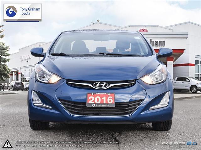 2016 Hyundai Elantra GLS (Stk: U9022A) in Ottawa - Image 2 of 27