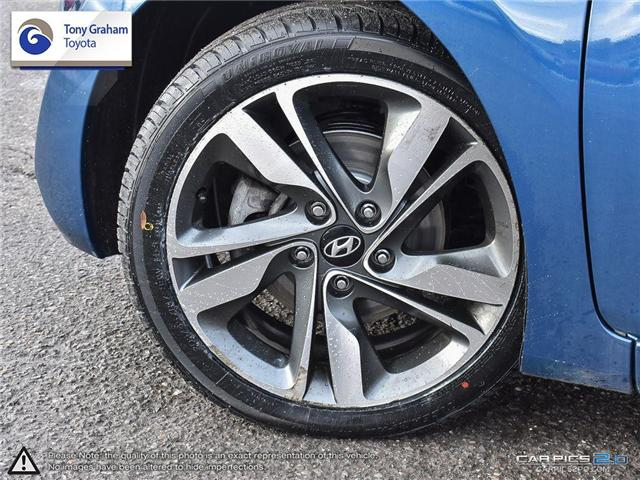 2016 Hyundai Elantra GLS (Stk: U9022A) in Ottawa - Image 6 of 27