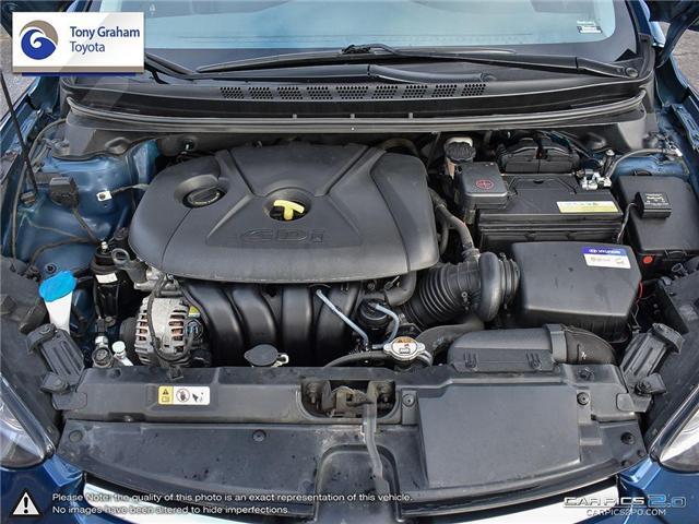 2016 Hyundai Elantra GLS (Stk: U9022A) in Ottawa - Image 8 of 27