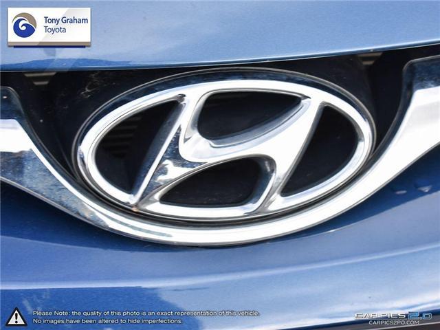2016 Hyundai Elantra GLS (Stk: U9022A) in Ottawa - Image 9 of 27