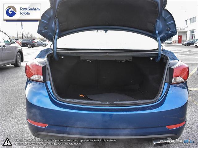 2016 Hyundai Elantra GLS (Stk: U9022A) in Ottawa - Image 11 of 27